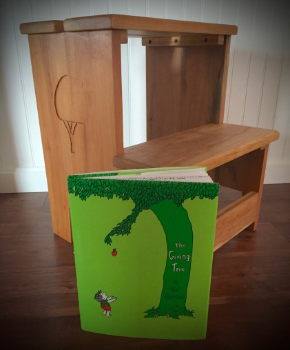 Stool and Book