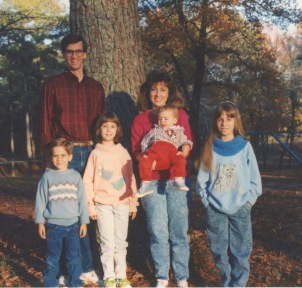 Family photo  - Fall 1990