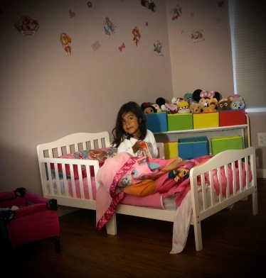 Her Own Bed!